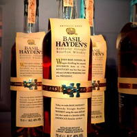 Whisky Show 2016 - Basil Hayden's, a bourbon!