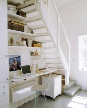 A felvezető lépcső is kihasználható.