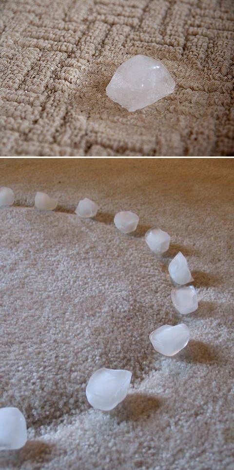 Így tüntesd el a szőnyegbe préselődött nyomokat.