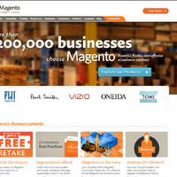 Új hivatalos Magento oldal arculat