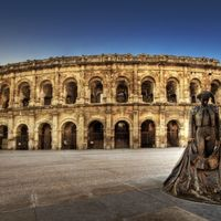 Gladiátorok földjén - Nimes, Franciaország