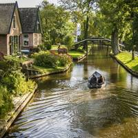 Giethoorn - a holland mesefalu