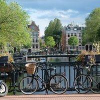 Amsterdam tulipánvirágzáskor