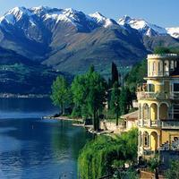Lírai táj az Alpok lábánál - Comói-tó
