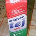 Magyar tejtermék az asztalon