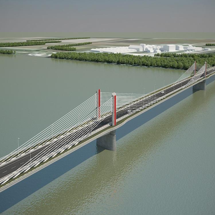 Most adták át a komáromi Duna-hidat, máris indulhat a paksi híd építkezése