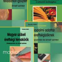 Magyar érettségire felkészítő kis könyvcsomagok