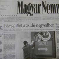 A Magyar Nemzet ma kimaxolta, hogy Budapesten jó zsidónak lenni