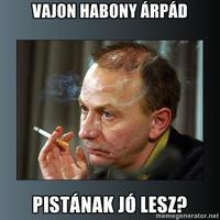 Habony Árpád, a vasököl
