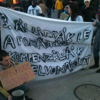 A forráskivonások miatt koldultak az egyetemisták