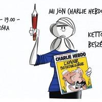 Mi köze az iszlámnak a terrorizmushoz? - a Charlie Hebdoról szóló Kettős Mérce beszélgetés felvétele