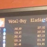 340 forintos euróval húzzák le a turistákat a Liszt Ferenc repülőtéren
