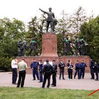 Kossuth téren oszlatták az LMP-t