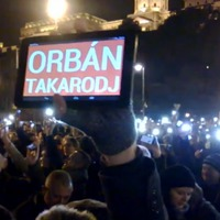 Merkel látogatása kapcsán tüntetnek 20 helyen Orbán ellen, Európa mellett