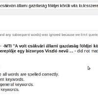 Az MTI egy ma regisztrált blogra hivatkozva sározza Ángyánt