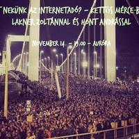 Mi is történt valójában az internetadó elleni tüntetésen? – Mérce-beszélgetés Lakner Zoltánnal és Hont Andrással az Aurórában