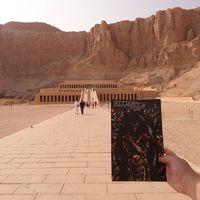 A Bloodlust 1. száma Hatsepszut halotti templománál