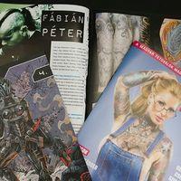 Fábián Peti interjú a Tattoo Magazinban