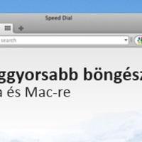 Opera 10.52 - a leggyorsabb most már Mac-re is