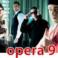 Opera 9 - nálad az irányítás
