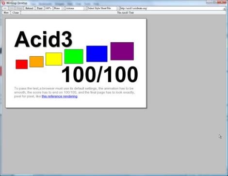 Opera és Acid3: 100/100!
