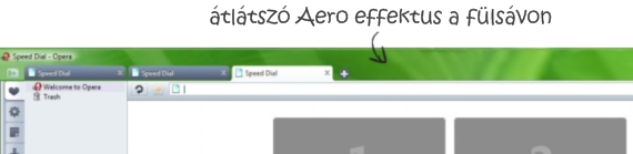 Aero effektus Operában
