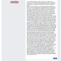 A FACEBOOK KONTROLL FOKOZÓDIK! N. 2(képernyő kép)