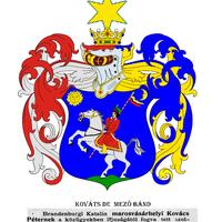 KOVÁTS de Mezőbánd 1630. ápilis 25. nemesi címere.