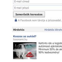 PrtScrn - Rosszul időzített FB hirdetés