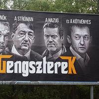 Plakátháború: a hatalom már túllépett minden határon