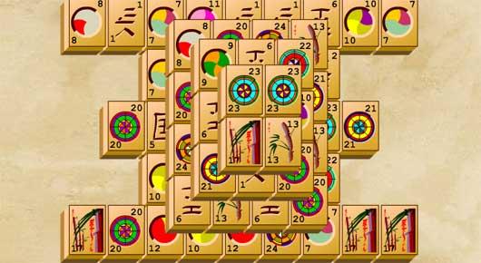 Ancient Mahjong játék