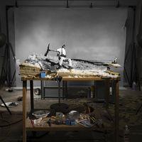 A fotótörténet leghíresebb képeinek miniatűr modelljei