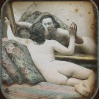 Különleges akt-sztereodagerrotípiák a fényképezés korai szakaszából (18+)