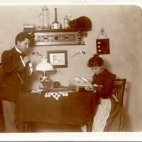 A Wagner házaspár megható története, akik évtizedeken át minden karácsonykor lefotózták magukat (1900-1942)
