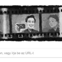 Miért cserélte ma egy fényképező nő képére logóját a Google?