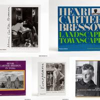 Henri Cartier-Bresson fotóalbumai