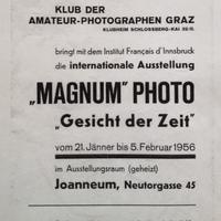 A Magnum első kiállítása
