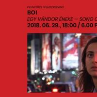 BOI, Egy vándor éneke - Ingyenes filmvetítés a Mai Manó Házban