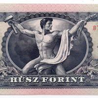 Ez az 1946-ban készült aktfotó szolgált a régi húszforintos bankjegy alapjául (18+)