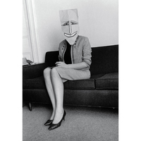 Inge Morath - Saul Steinberg: Papírmaszkok