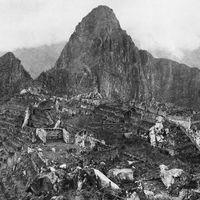 Az első fotó a Machu Picchuról (1912)