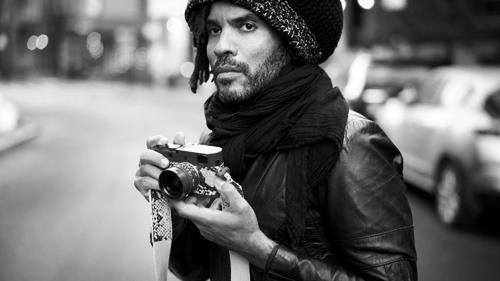 Fényképező hírességek - Lenny Kravitz