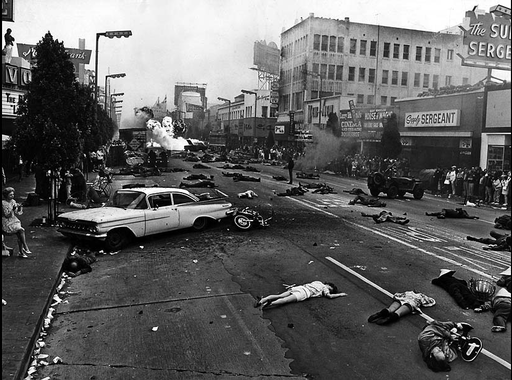 15 érdekes fotó a Los Angeles Times napilap archívumából