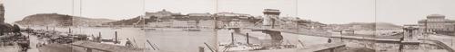 Egy 1880 körül készült budapesti panorámaképet is elárverez a Sotheby's