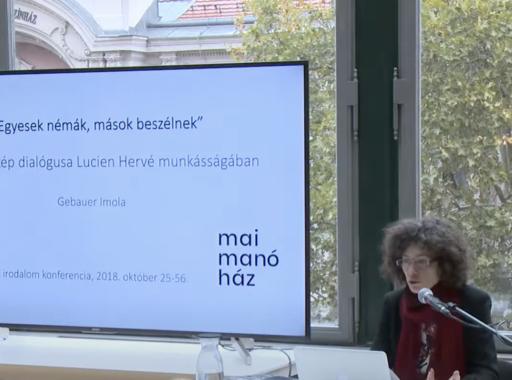 """Mai Manó Online Fotóegyetem - """"Egyesek némák, mások beszélnek"""" - A szó és kép dialógusa Lucien Hervé munkásságában (Gebauer Imola előadása)"""