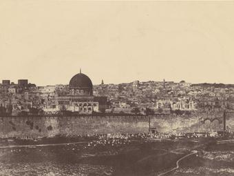 Jeruzsálemi utazás: Auguste Salzmann fényképei 1854-ből