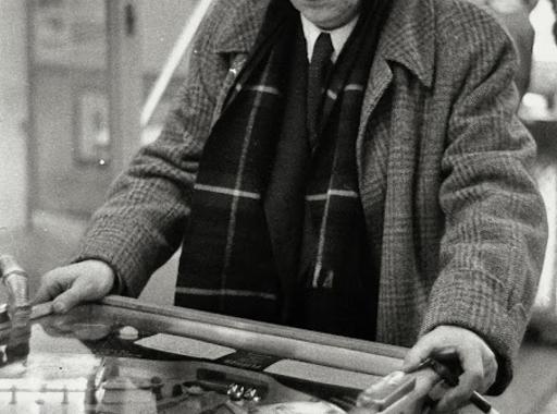 Willy Ronis: Brassaï flipperezik (1954)
