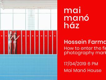 Hossein Farmani: Hogyan lépjünk be a műtárgypiacra? - előadás a Mai Manó Házban