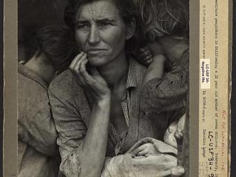 Kép-kockák #11 – Dorothea Lange: A vándorló anya (1936)
