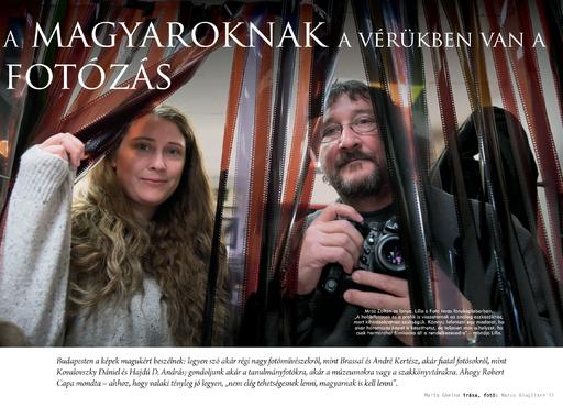 A magyaroknak a vérükben van a fotózás – Marta Ghelma írása